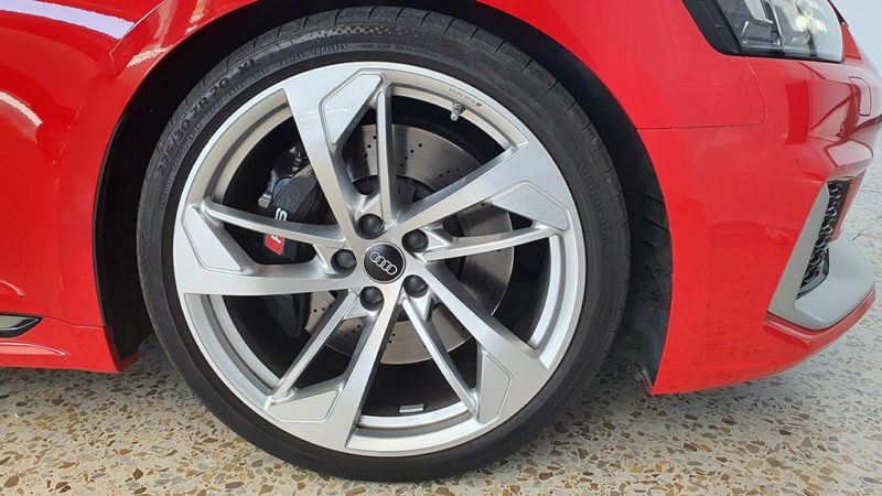 AUDI A5 RS 5 Coupe 2.9 TFSI quattro triptronic, llantas.