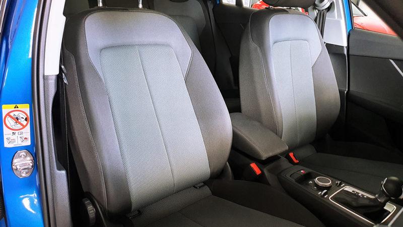 Audi Q2 1.6TDI Design edition S tronic, detalle asientos