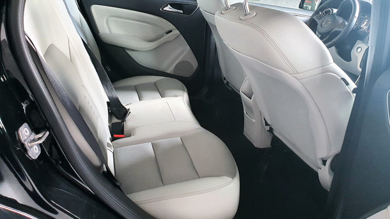 Mercedes clase b segunda mano, asientos traseros