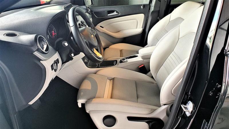 Mercedes clase b segunda mano, asientos delanteros