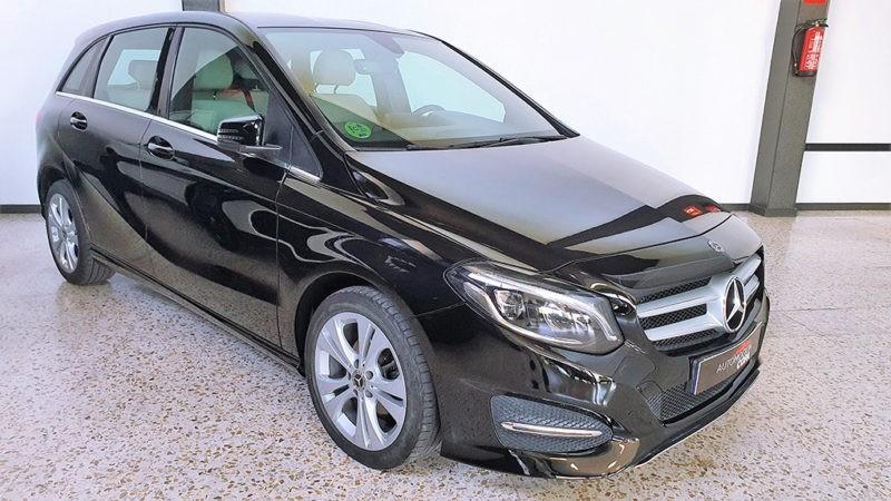 Mercedes clase b de segunda mano, frontal derecho