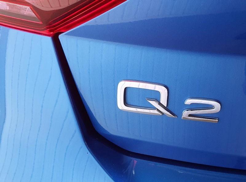 Audi Q2 segunda mano, inscripción Q2