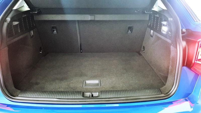Audi Q2 segunda mano, maletero