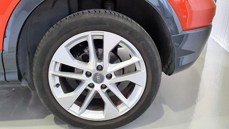 AUDI Q2 1.4 TFSI, detalle rueda
