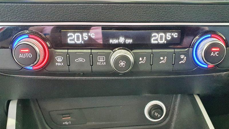 AUDI Q2 1.4 TFSI, climatizador