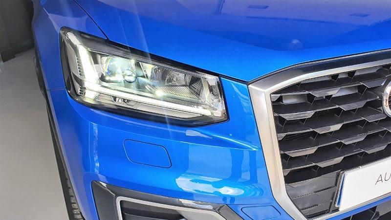 AUDI Q2 1.6 TDI Design edition, faros led