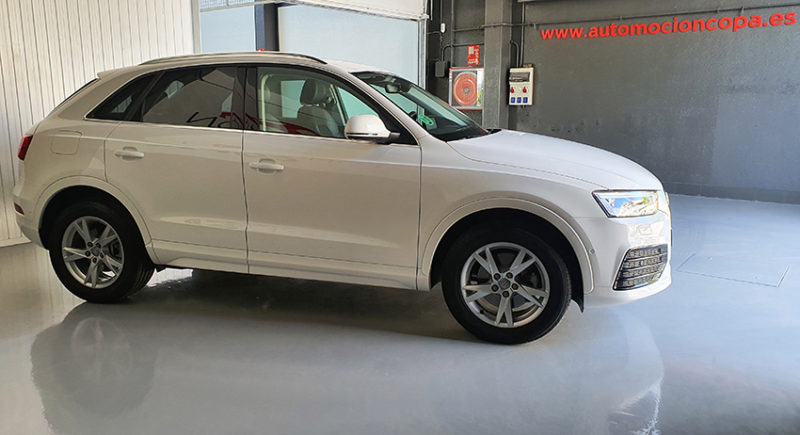 lateral derecho Audi Q3 2.0 sport edition TDI