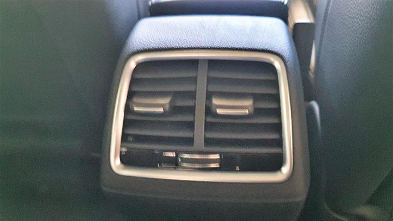rejillas calefacción y aire acondicionado Audi Q3