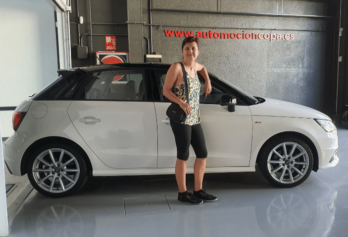 Cliente satisfecho, compra Audi A1 sportback