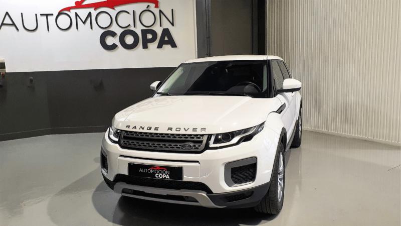 frontal lateral LAND-ROVER Range Rover Evoque
