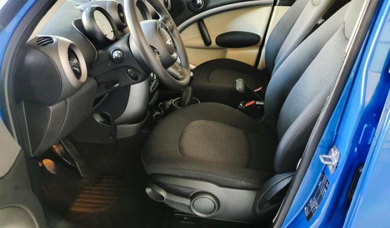Asientos delanteros mini azul