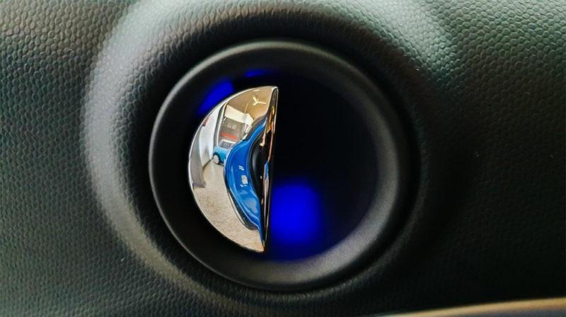 Apertura puerta mini one