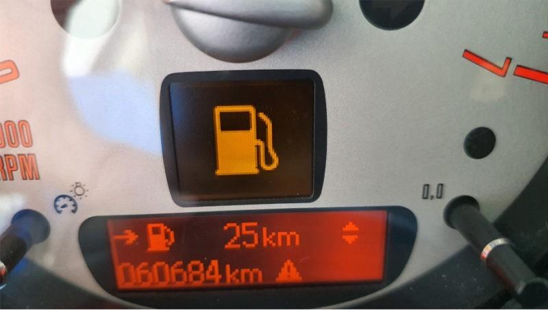 Indicador gasolina Mini one