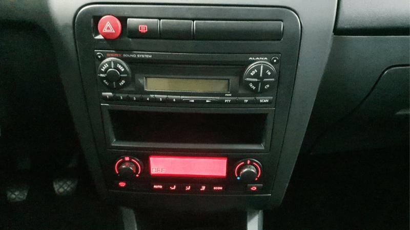 Seat Ibiza cuadro de mandos