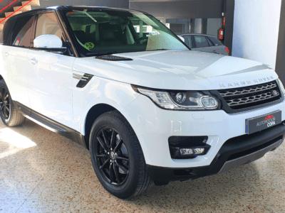 Range Rover sport lateral frente